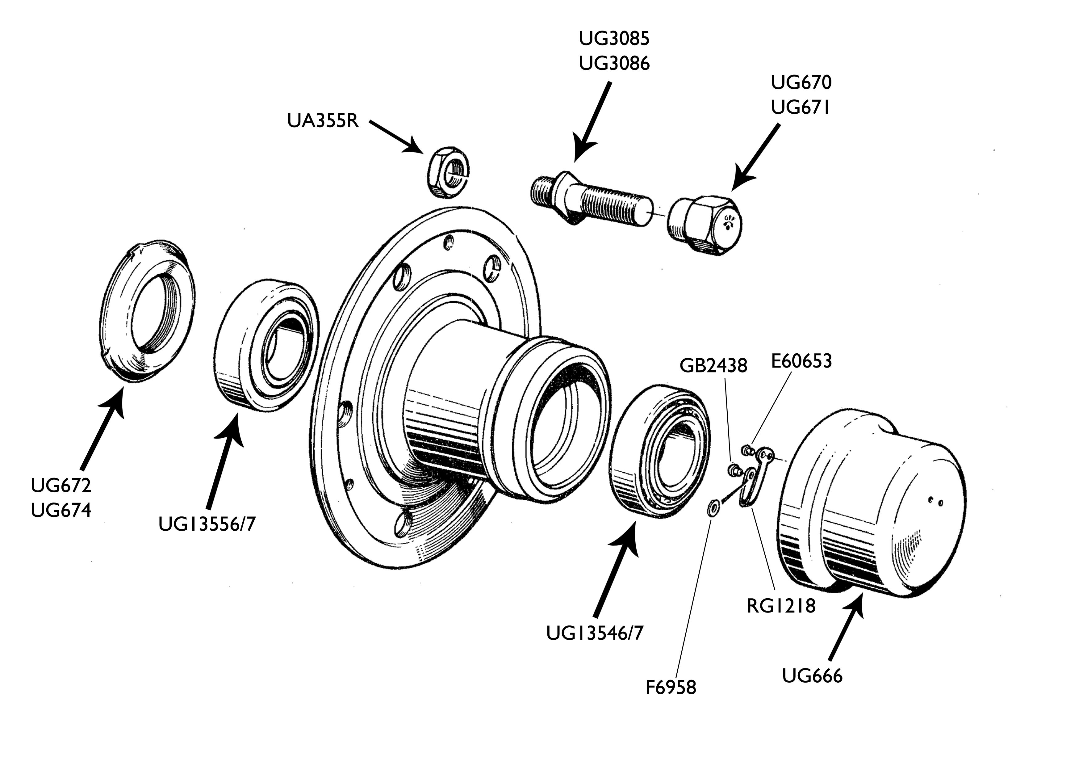 Hubs & Wheel Bearings