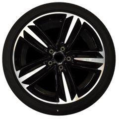 ALUMINIUM RIM (Black & Polished) (Rear) (3SA601025BGU)