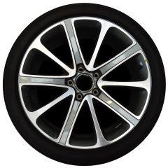 ALUMINIUM RIM (Gunmetal & Polished) (Rear) (3SA601025LU)