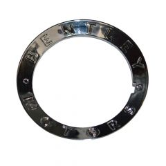 """BENTLEY MOTORS"" CHROME RING FOR WHEEL CENTRE CAP (GT, GTC & FLYING SPUR) (3W0601165RING)"