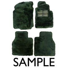 SET OF LAMBSWOOL RUGS (LHD RR GHOST 2010 ON) (GHOSTRUGSETLHD)