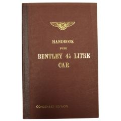 HANDBOOK FOR BENTLEY 4 1/4 LITRE (TSD507)