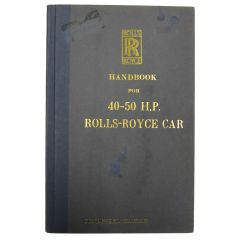 HANDBOOK REPRINT 40-50 H.P. (TSD504)