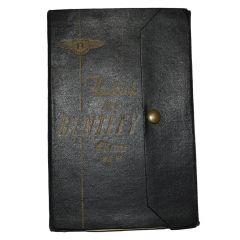 Handbook - Bentley 4¼ TSD507