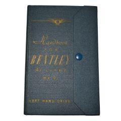 Handbook - Bentley 4¼ Litre MkVI LHD TSD524