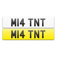 REGISTRATION NUMBER - M14 TNT (M14 TNT)