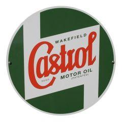 CASTROL CLASSIC OILS ROUND METAL SIGN – 400MM (STR587)