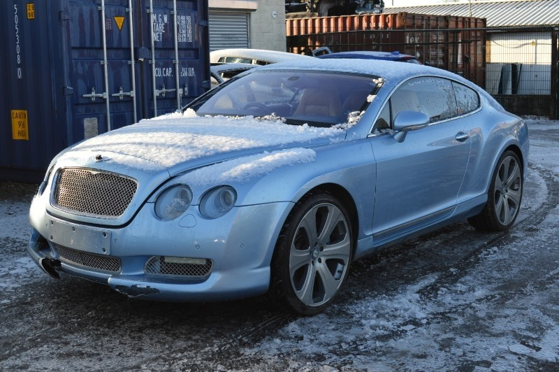 Bentley Continental GT : FSD-401