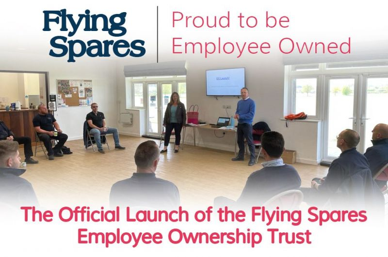 The Official Launch of the Flying Spares Employee Ownership Trust