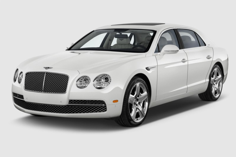 Bentley Continental Flying Spur Chrome Radiator Grille Surround & Mesh