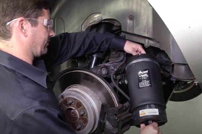 Consequences of an unused vehicle's air suspension system