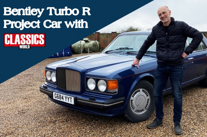 Flying Spares teams up with Classics World to work on a Bentley Turbo R project car
