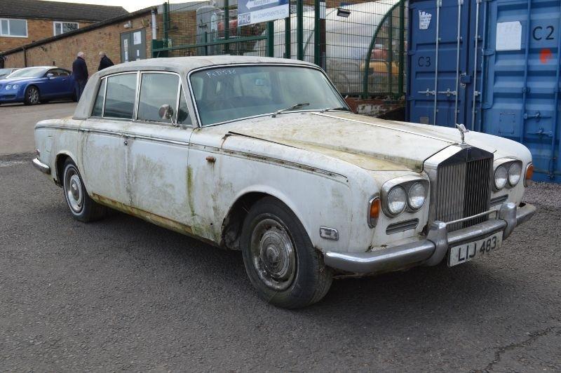 Rolls-Royce Silver Shadow : FSD-536
