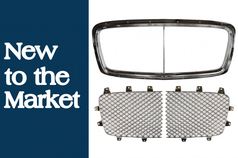New to the Market: Bentley Continental GT & GTC Radiator Grille Fittings