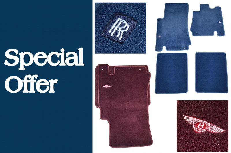 Special Offer: Rolls-Royce & Bentley Overmat Sets
