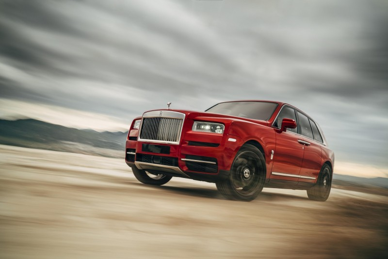 The Launch of the Rolls-Royce Cullinan