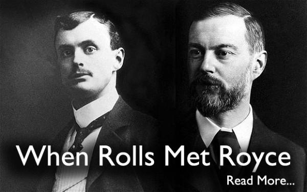 When Rolls Met Royce