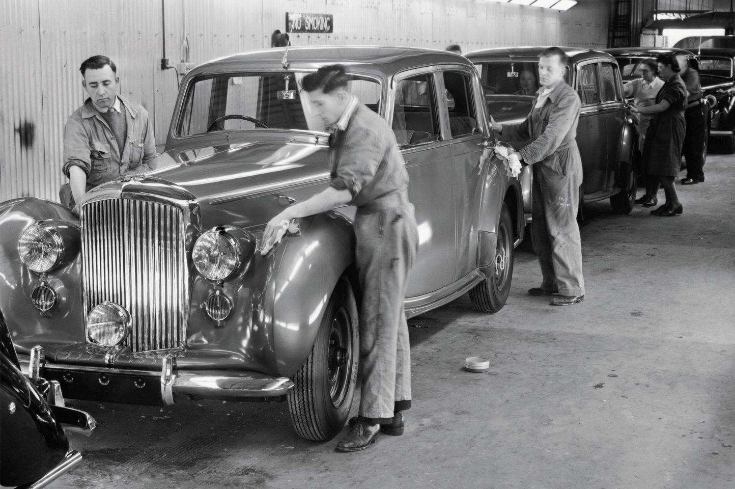 Bentley Motors celebrates 75 Years of manufacturing cars in Crewe