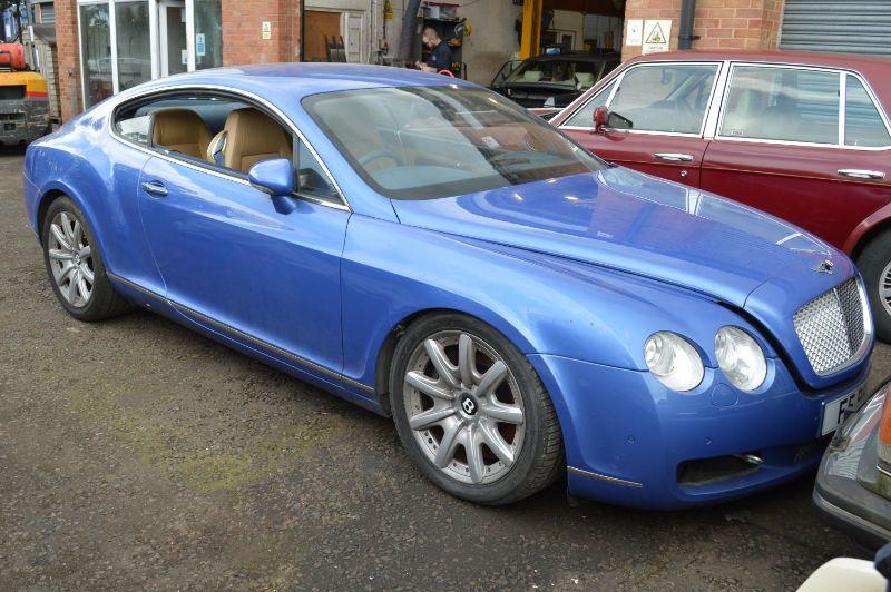 Bentley Continental GT : FSD-316