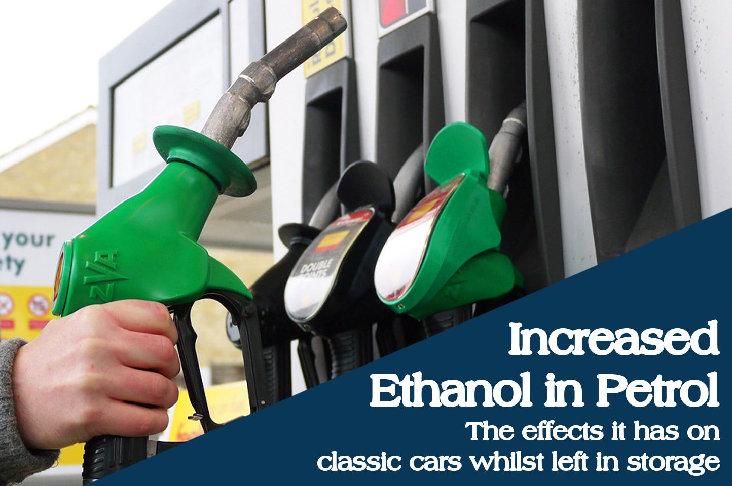 Increased Ethanol Content In Petrol: The Effects It Has On Classic Cars Whilst Left In Storage