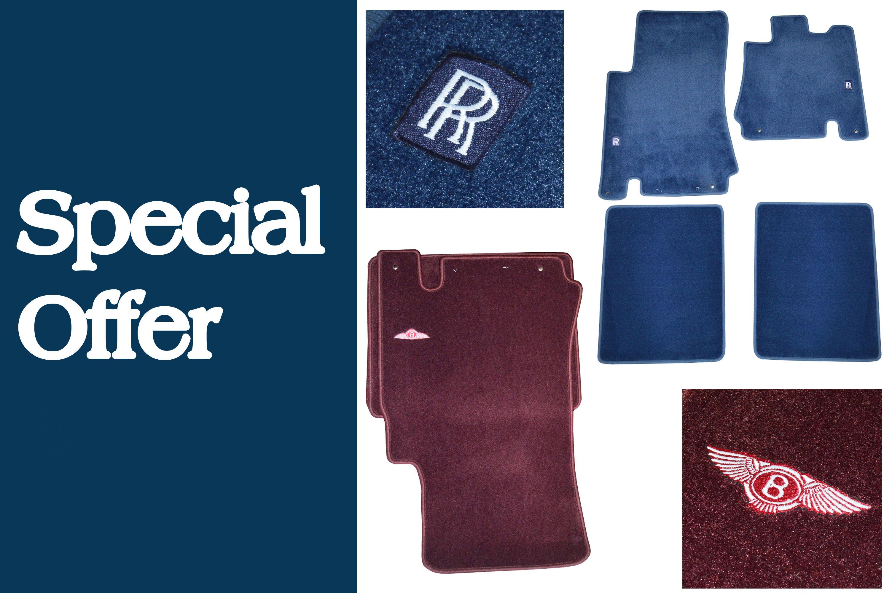 Special Offer: Rolls-Royce & Bentley Overmat Sets