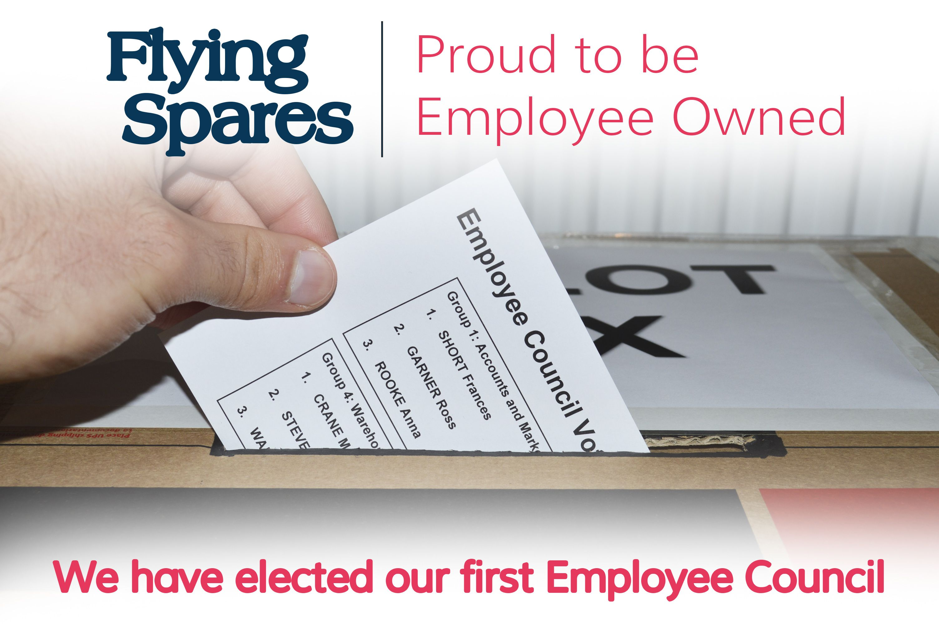 We have elected our first Employee Council