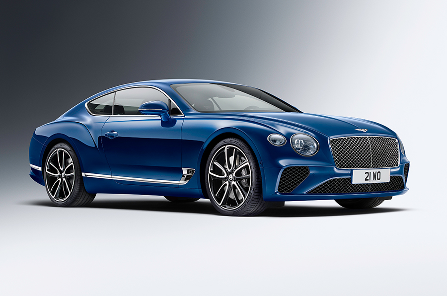 The Launch of the third generation Bentley Continental GT