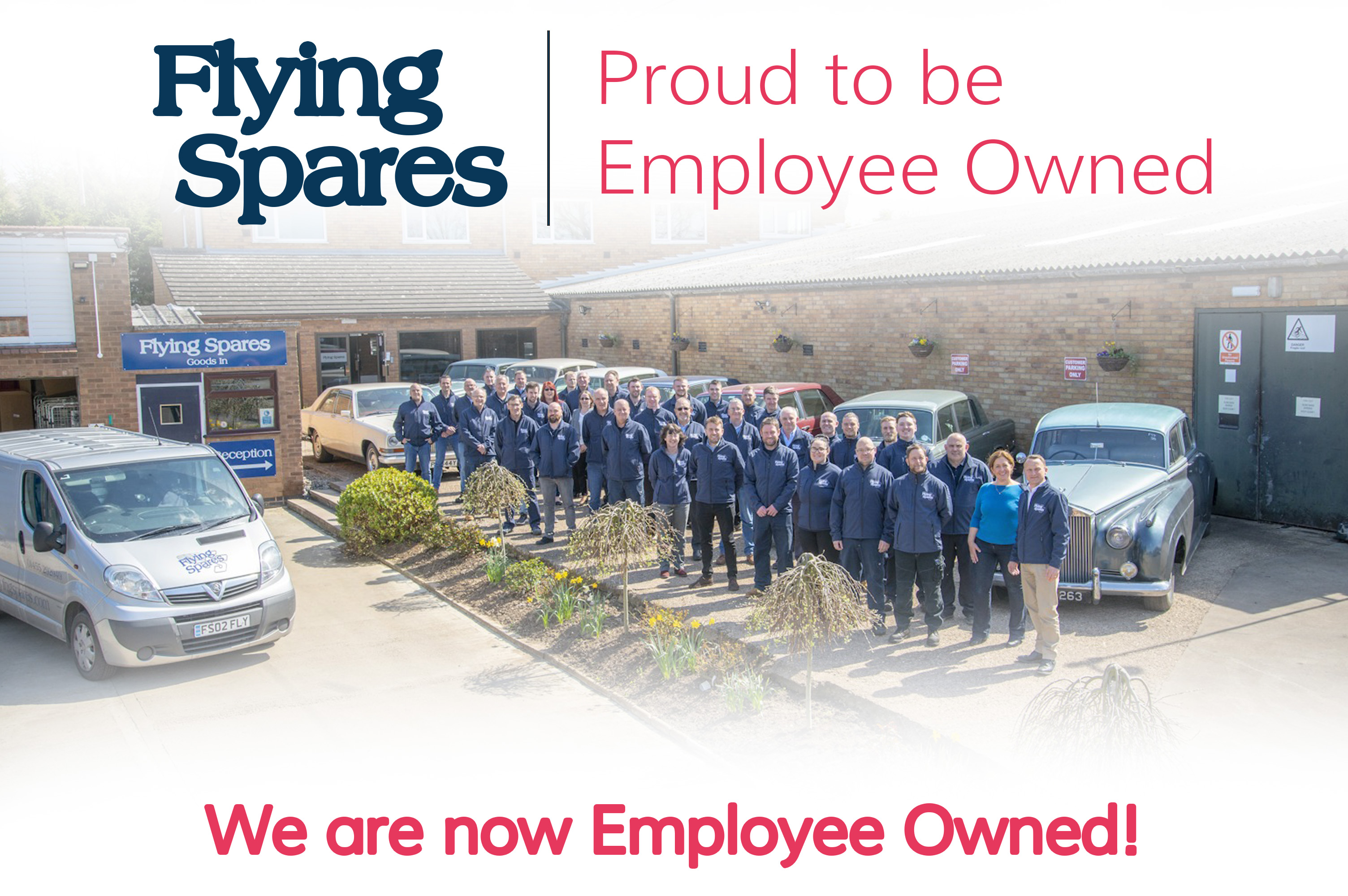 We are now Employee Owned!